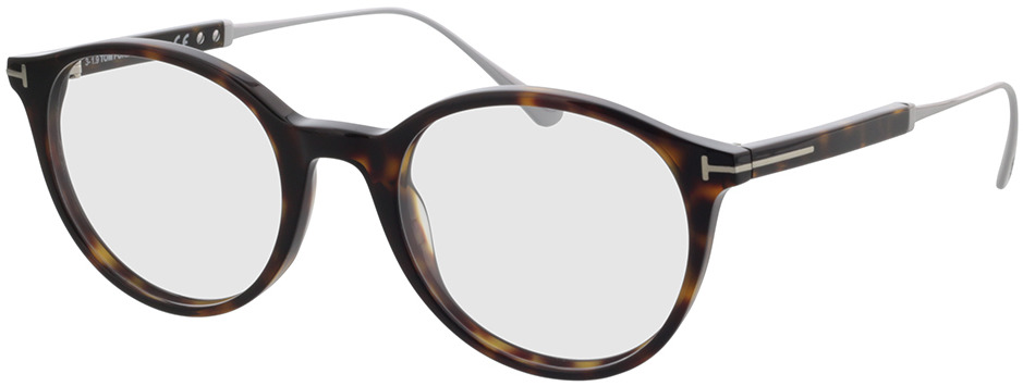 Picture of glasses model Tom Ford FT5485 052 in angle 330