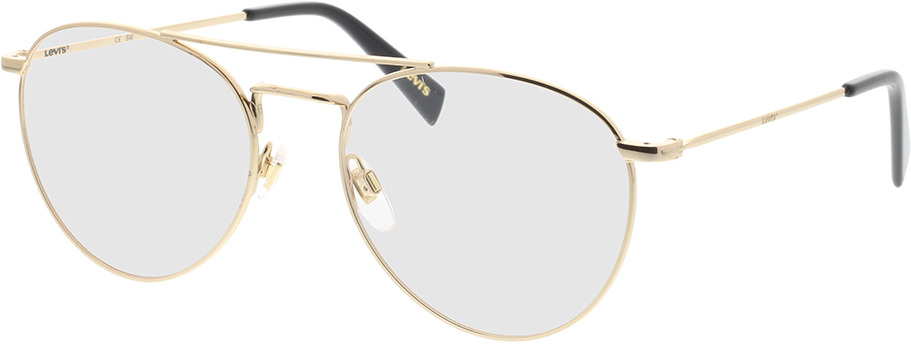 Picture of glasses model Levi's LV 1006 J5G 54-19 in angle 330