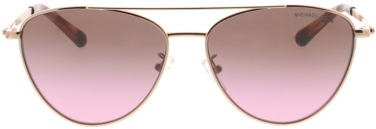 Picture of glasses model Michael Kors Barcelona MK1056 110867 58-15 in angle 0