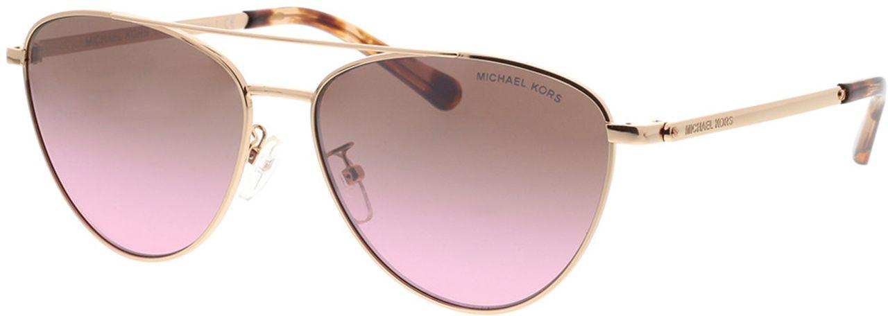 Picture of glasses model Michael Kors Barcelona MK1056 110867 58-15 in angle 330