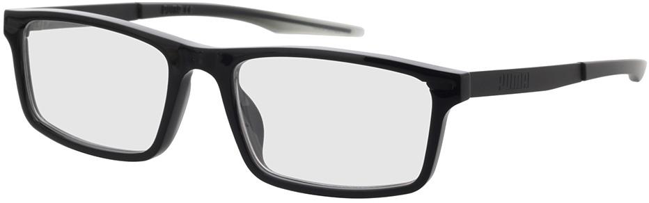 Picture of glasses model Puma PU0299O-001 56-18 in angle 330