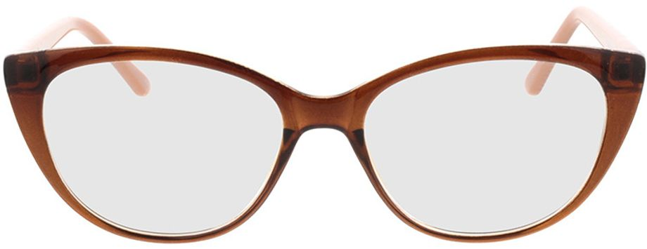 Picture of glasses model Arene-braun in angle 0