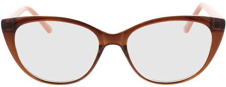 Picture of glasses model Arene-castanho in angle 0