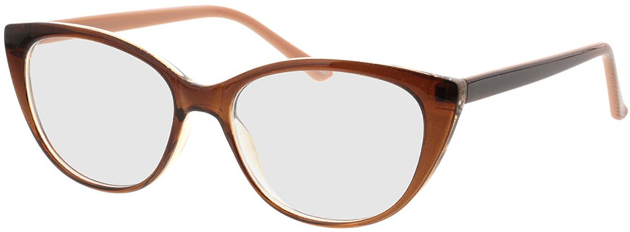 Picture of glasses model Arene-braun in angle 330