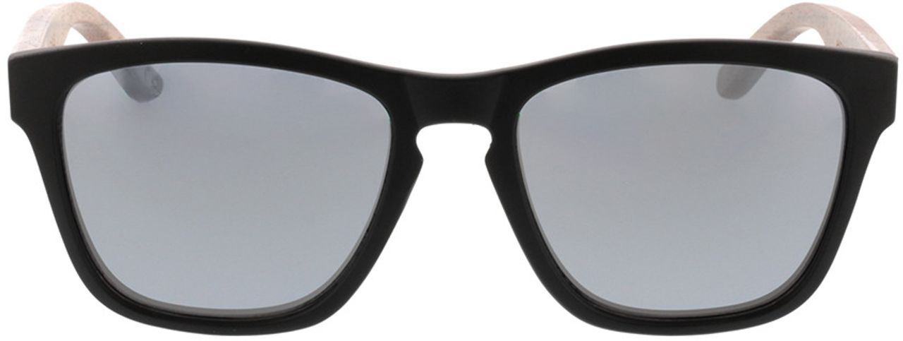 Picture of glasses model TAKE A SHOT The Nightingale: Walnussholz 52-19 in angle 0
