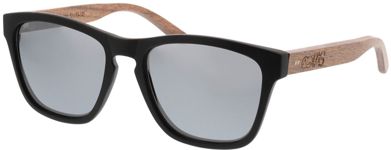 Picture of glasses model TAKE A SHOT The Nightingale: Walnussholz 52-19 in angle 330
