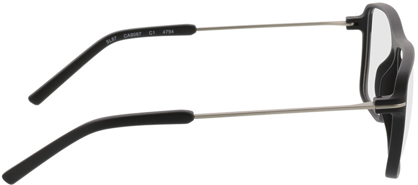 Picture of glasses model Watts-schwarz/silber in angle 90