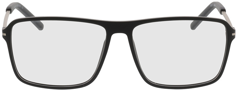 Picture of glasses model Watts-schwarz/silber in angle 0