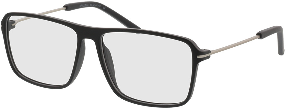 Picture of glasses model Watts-schwarz/silber in angle 330