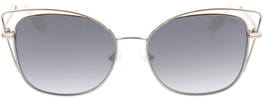 Picture of glasses model Guess GU7528 10C 56-16 in angle 0