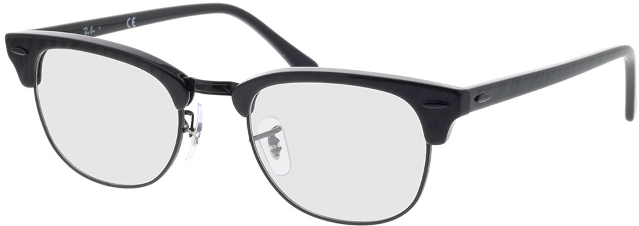 Picture of glasses model Ray-Ban Clubmaster RX5154 8049 51-21 in angle 330
