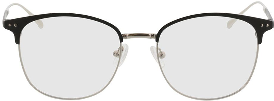 Picture of glasses model Hampton-schwarz/silber in angle 0