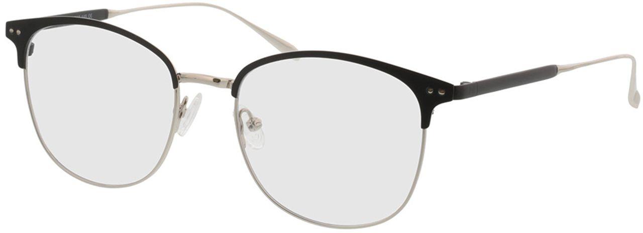 Picture of glasses model Hampton-schwarz/silber in angle 330