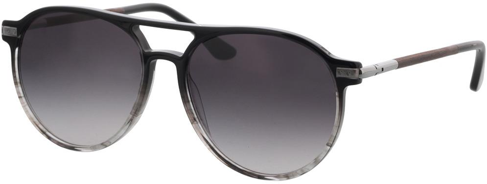 Picture of glasses model Wood Fellas Sunglasses Core macassar/black-grey 56-16 in angle 330