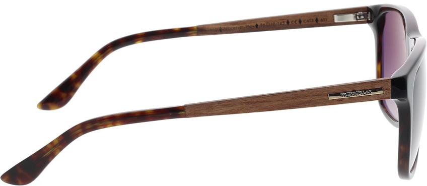 Picture of glasses model Wood Fellas Sunglasses Oberhaus macassar/havana 56-18 in angle 90