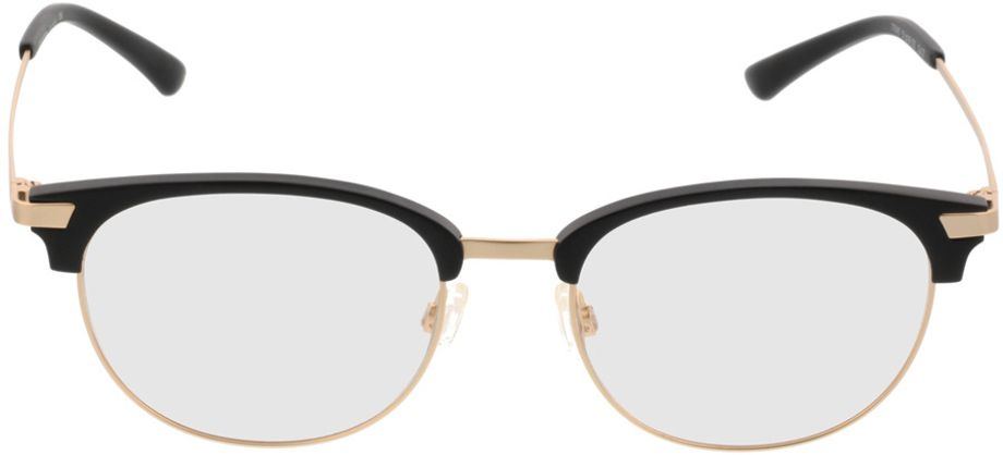 Picture of glasses model Comma70043 31 schwarz/gold 51-18 in angle 0