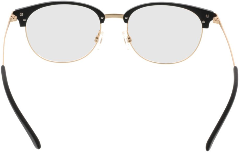 Picture of glasses model Comma70043 31 schwarz/gold 51-18 in angle 180