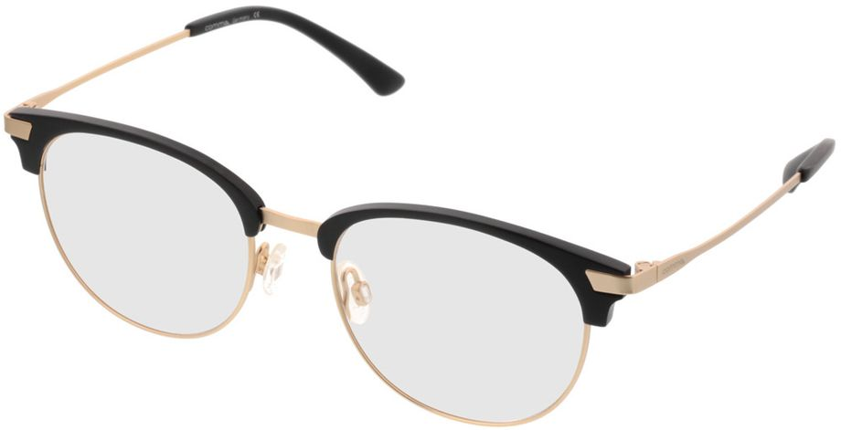 Picture of glasses model Comma70043 31 schwarz/gold 51-18 in angle 330