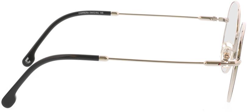 Picture of glasses model Carrera CARRERA 194/G 84J 50-20 in angle 90