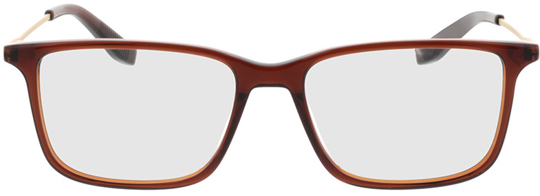Picture of glasses model Bonum-braun transparent in angle 0