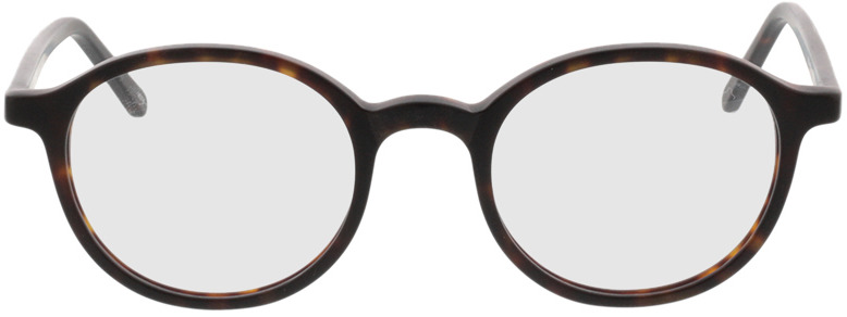 Picture of glasses model Ascra-braun-meliert in angle 0