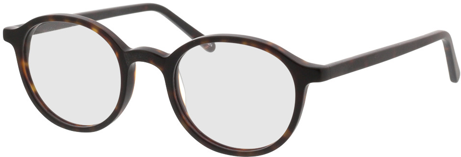 Picture of glasses model Ascra-braun-meliert in angle 330