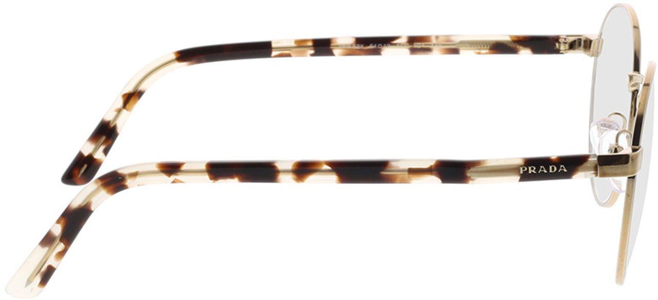 Picture of glasses model Prada PR 52XV ACD1O1 51-19 in angle 90