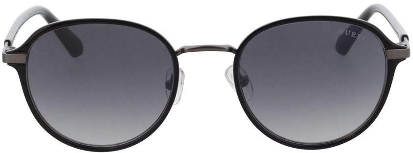 Picture of glasses model Guess GU00031 01B 53 in angle 0
