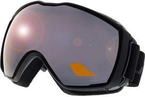 Skibrille Airflux schwarz/grau XL+