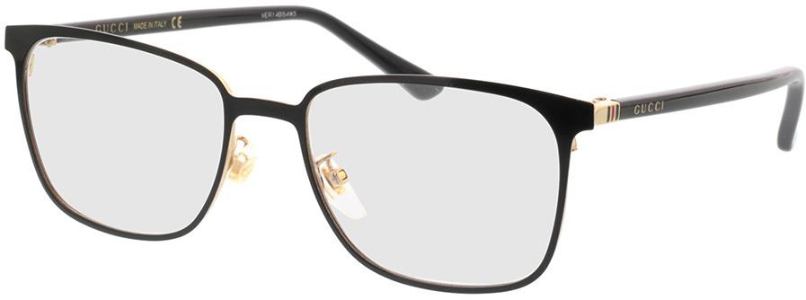 Picture of glasses model Gucci GG0294O-002 54-18 in angle 330