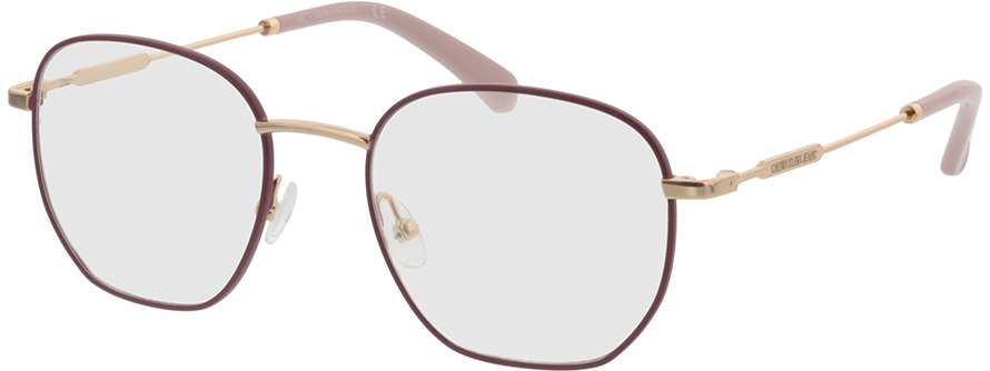 Picture of glasses model Calvin Klein Jeans CKJ20101 645 50-19 in angle 330