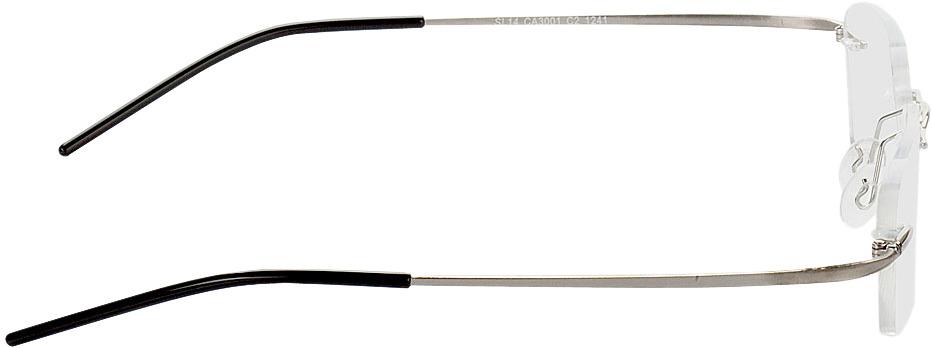Picture of glasses model Ensenada-silber in angle 90