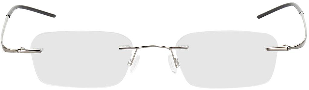 Picture of glasses model Ensenada-silber in angle 0