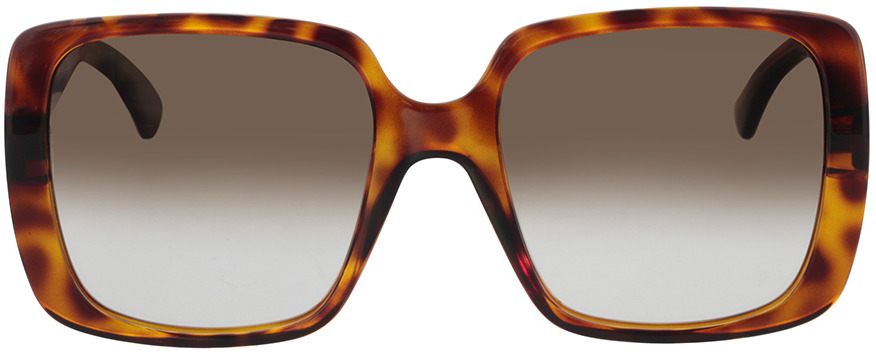 Picture of glasses model Gucci GG0632S-002 56-20 in angle 0