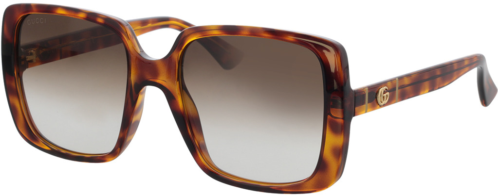 Picture of glasses model Gucci GG0632S-002 56-20 in angle 330