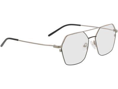 Brille Kelso-silber/schwarz