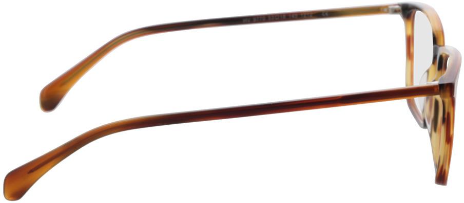 Picture of glasses model Jaco-braun/orange in angle 90