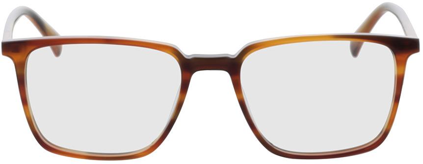 Picture of glasses model Jaco-braun/orange in angle 0