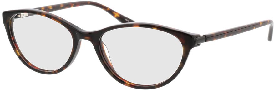 Picture of glasses model Audrey-braun-meliert in angle 330