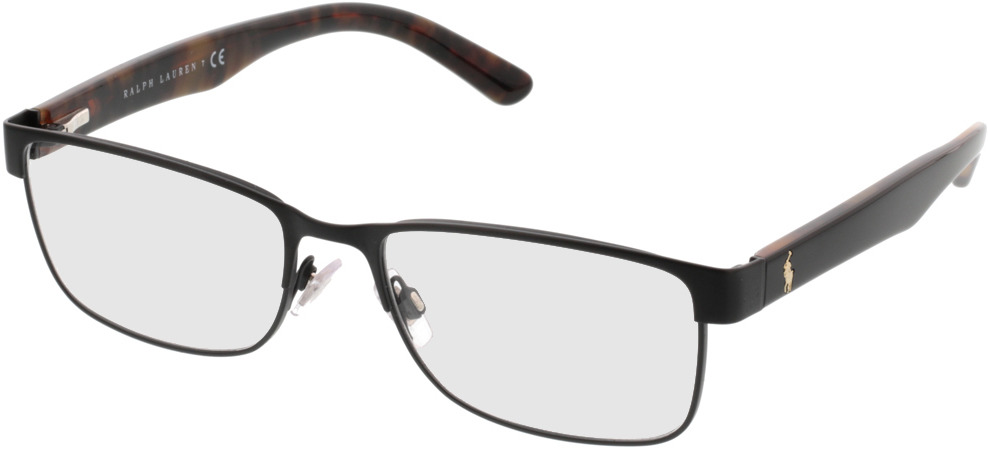 Picture of glasses model Polo Ralph Lauren PH1157 9038 55-17 in angle 330