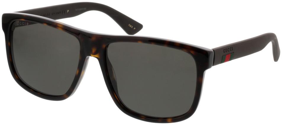 Picture of glasses model Gucci GG0010S-003 58-16