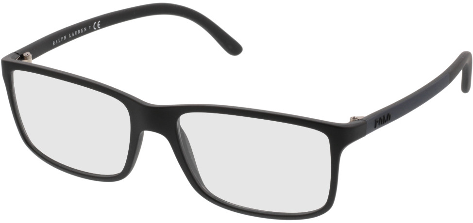 Picture of glasses model Polo Ralph Lauren PH2126 5505 55-16 in angle 330