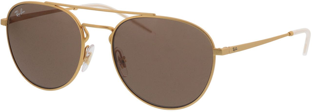 Picture of glasses model Ray-Ban RB3589 901373 55-18  in angle 330