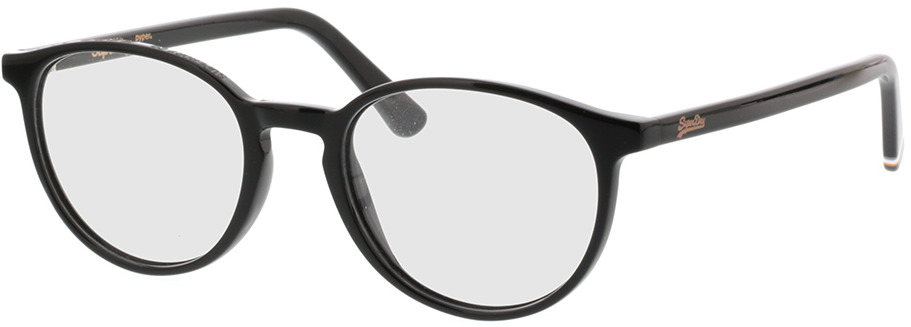 Picture of glasses model Superdry SDO Pyper 104 gloss noir 50-19 in angle 330