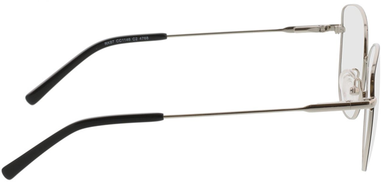 Picture of glasses model Winona-schwarz/silber in angle 90