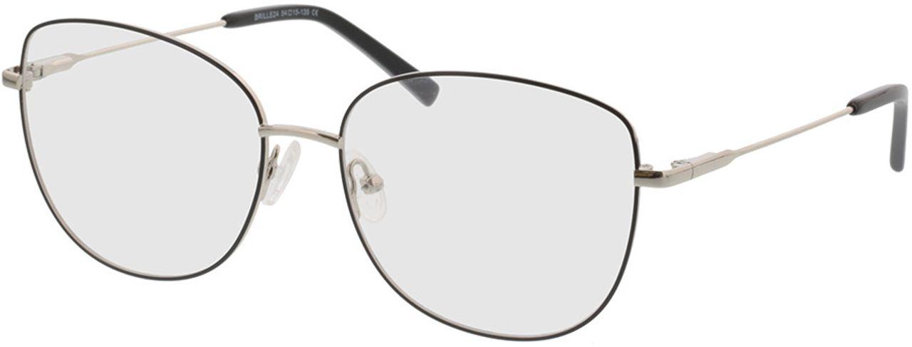 Picture of glasses model Winona-schwarz/silber in angle 330