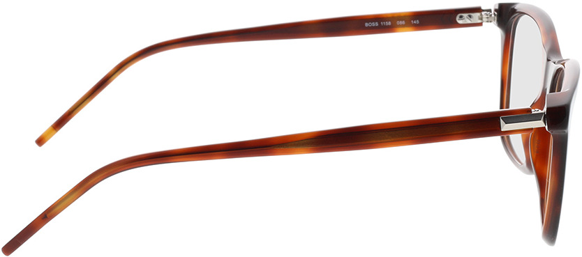 Picture of glasses model Boss BOSS 1158 086 55-18 in angle 90