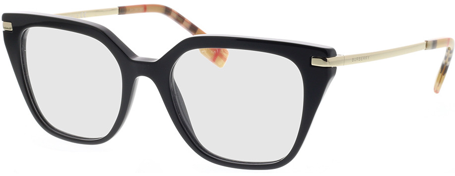 Picture of glasses model Burberry BE2310 3757 52-19 in angle 330