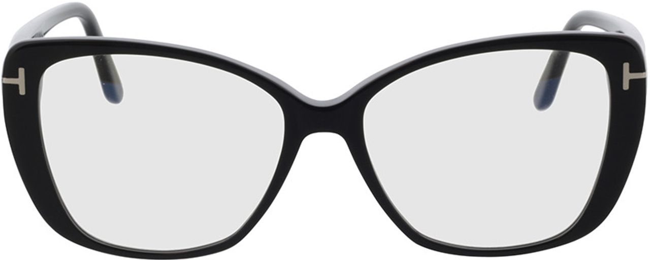 Picture of glasses model Tom Ford FT5744-B 001 54-15 in angle 0