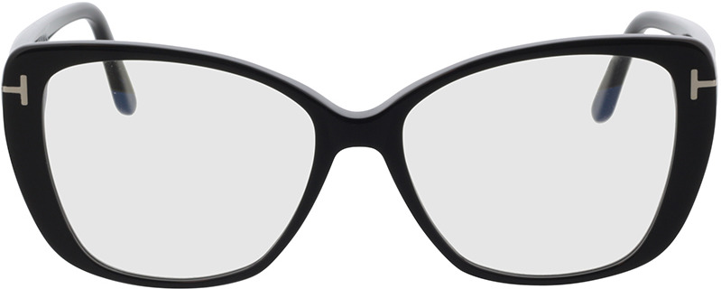 Picture of glasses model Tom Ford FT5744-B 001 54 in angle 0
